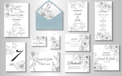 Must-Have Wedding Stationery You Need for Your Big Day