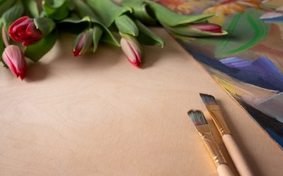 Stock up on art supplies for Spring