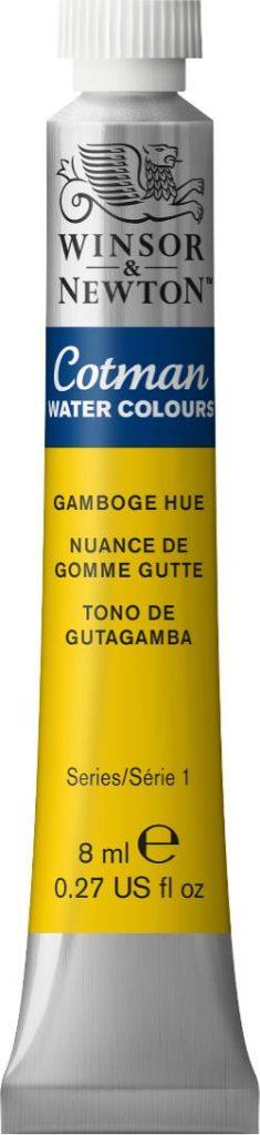 Gamboge Hue